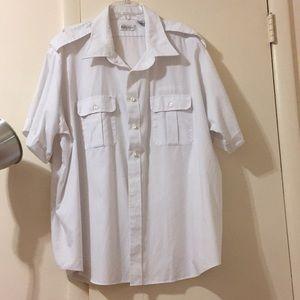 Van Heusen Relaxed Fit Pilot Shirt Size 20